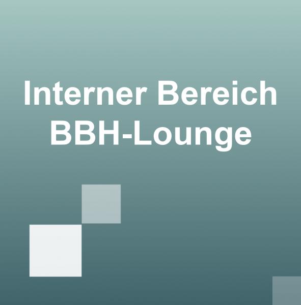 BBH Interner Bereich BBH-Lounge
