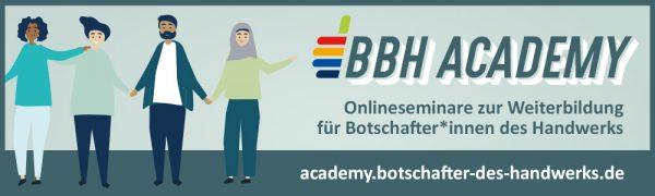 BBH ACADEMY // Jetzt anmelden!