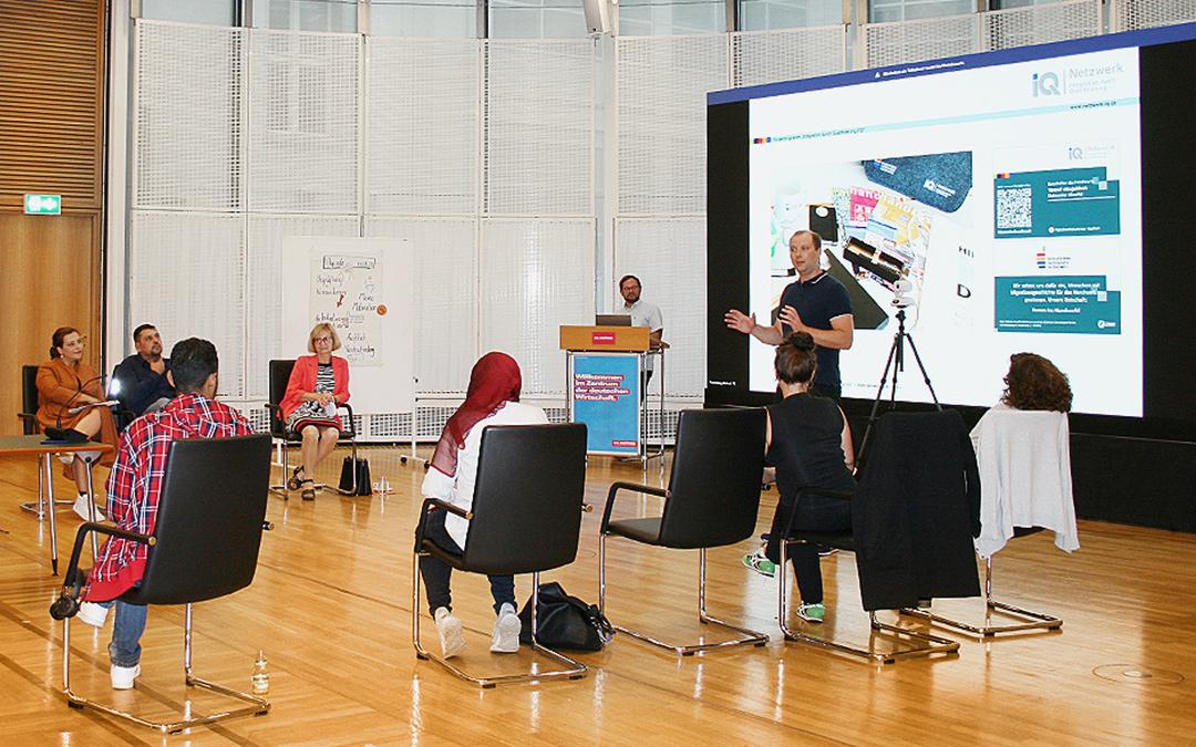 Informationsveranstaltung der Botschafter*innen-Initiative im Haus des Deutschen Handwerks in Berlin